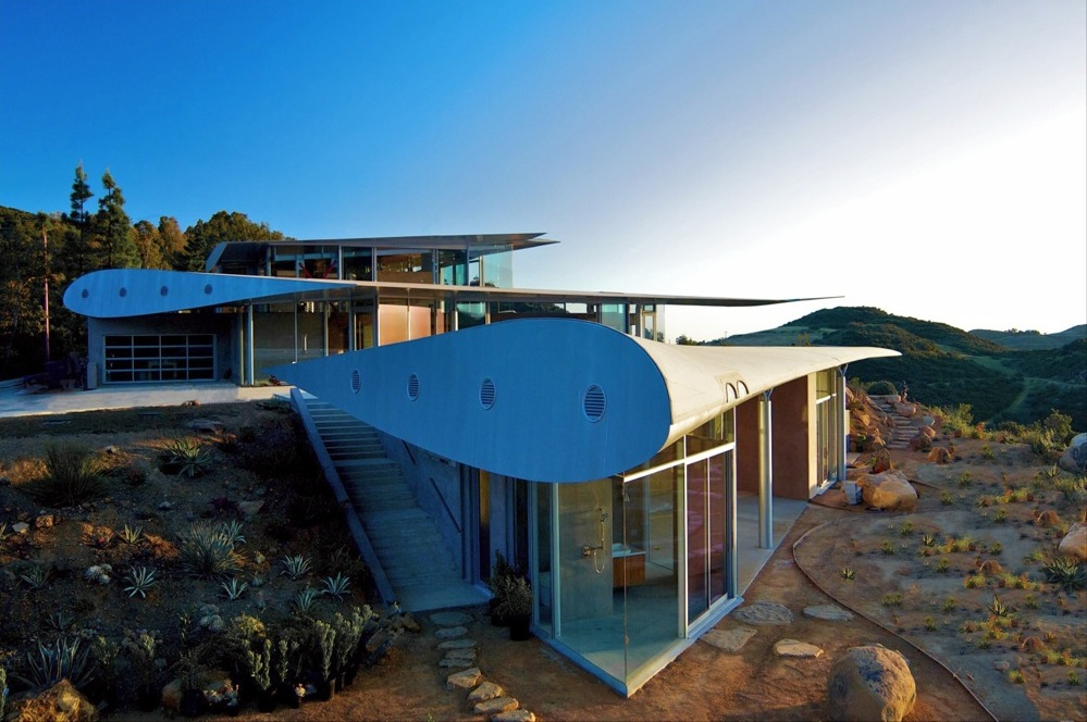 Une maison faite avec une épave de Boeing 747