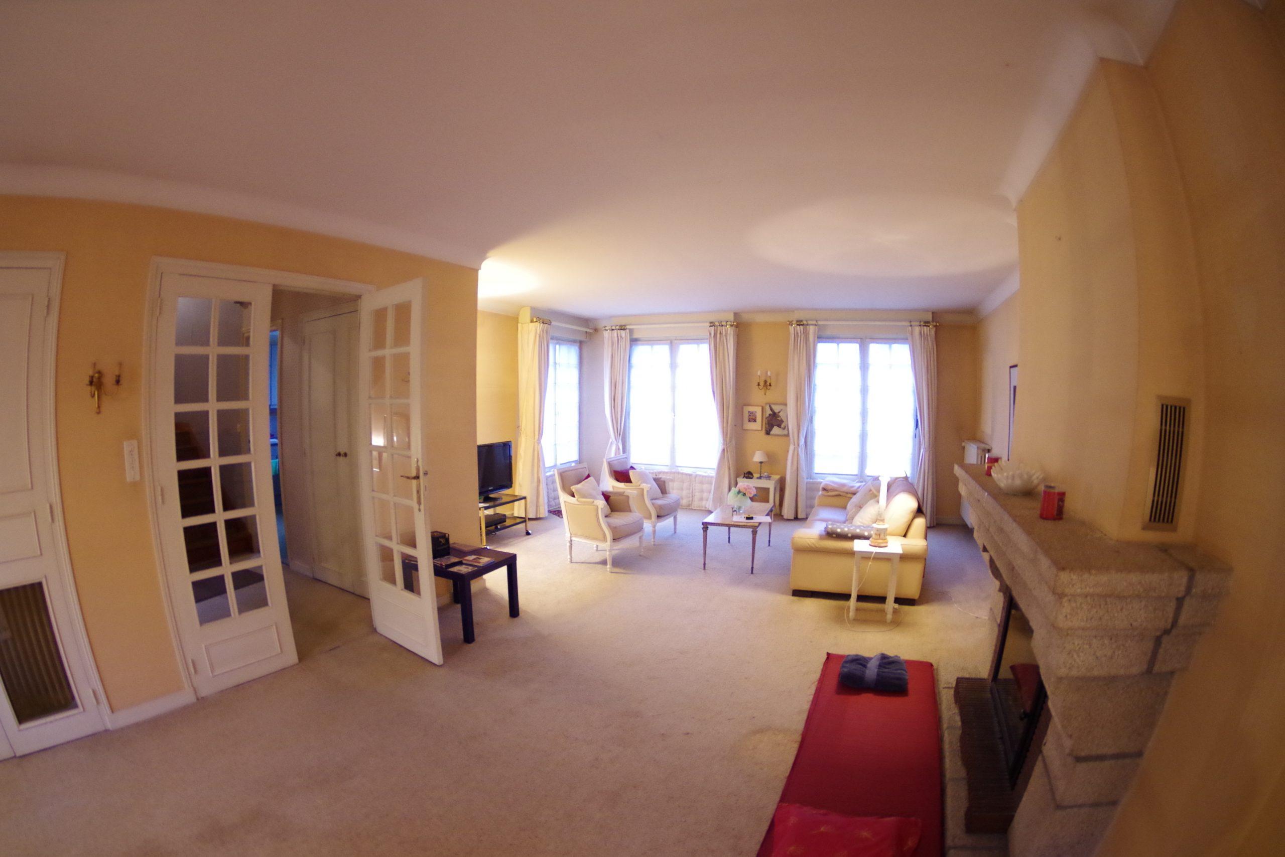 Salon de la maison Quimper Archibien