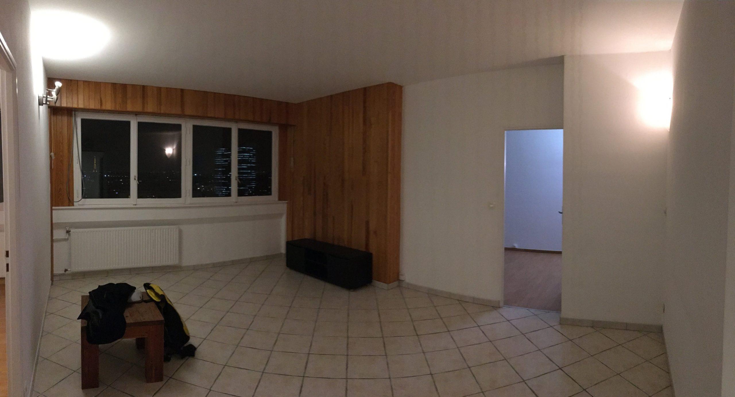 Photo avant travaux pièce à vivre de l'appartement - Archibien