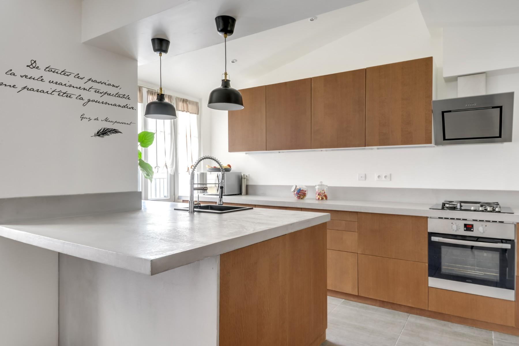 Rénovation d'une maison à Meaux, la cuisine grâce à un architecte Archibien