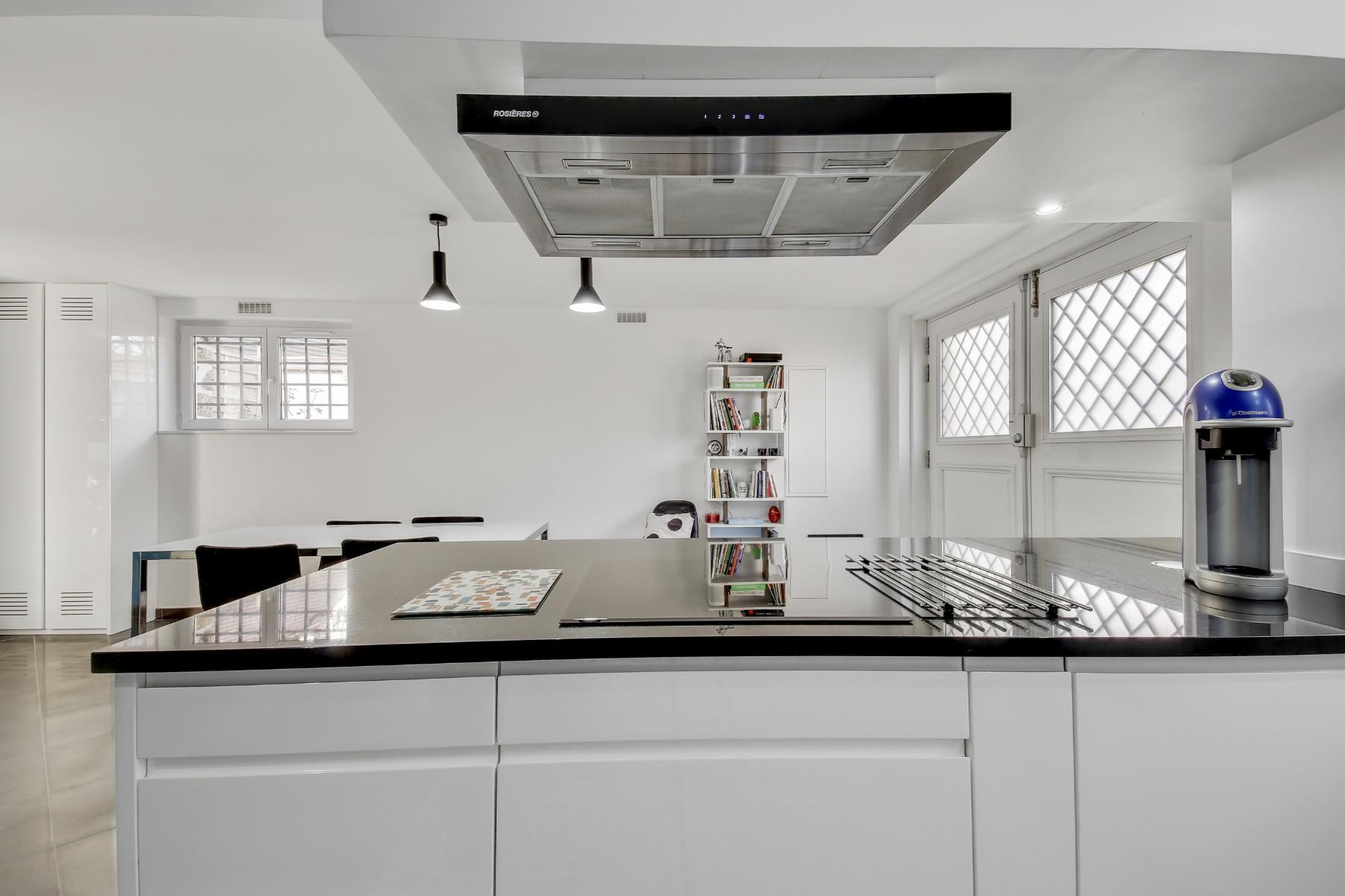 Cuisine rénovée par un architecte Archibien