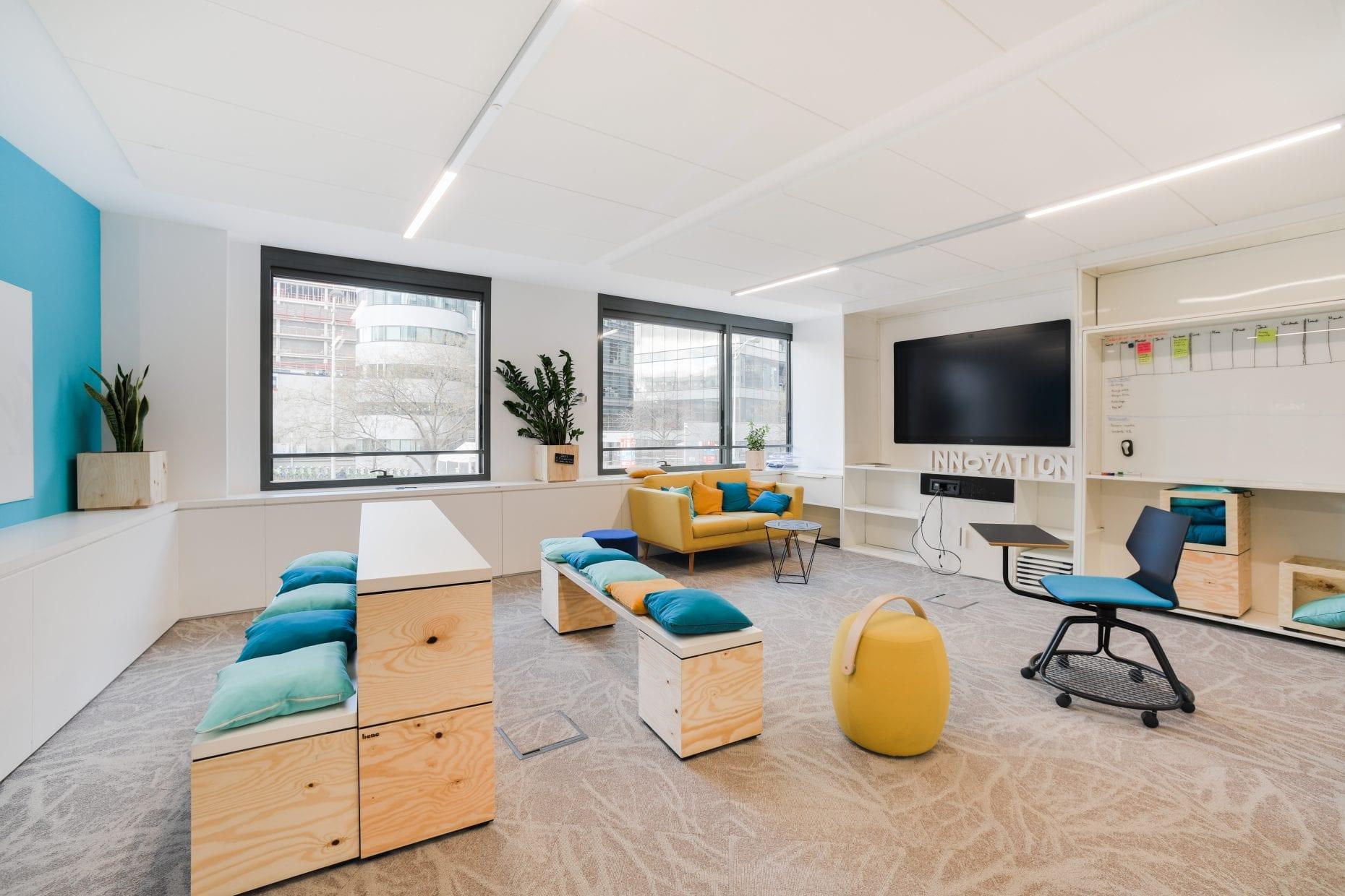 Aménagement bureaux architecte Archibien coworking paris