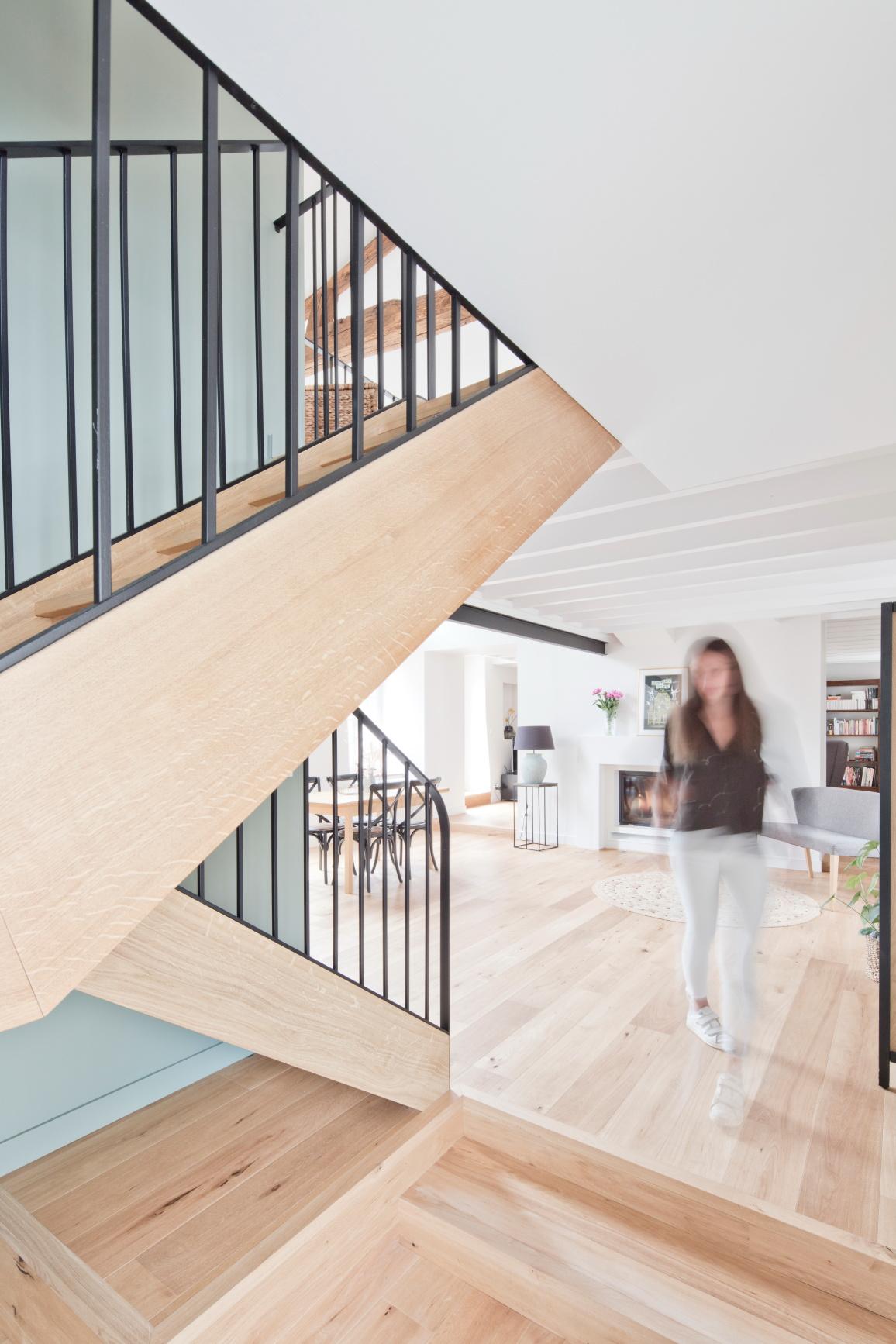 rénovation près de Nantes par Archibien et Hoz Architecture