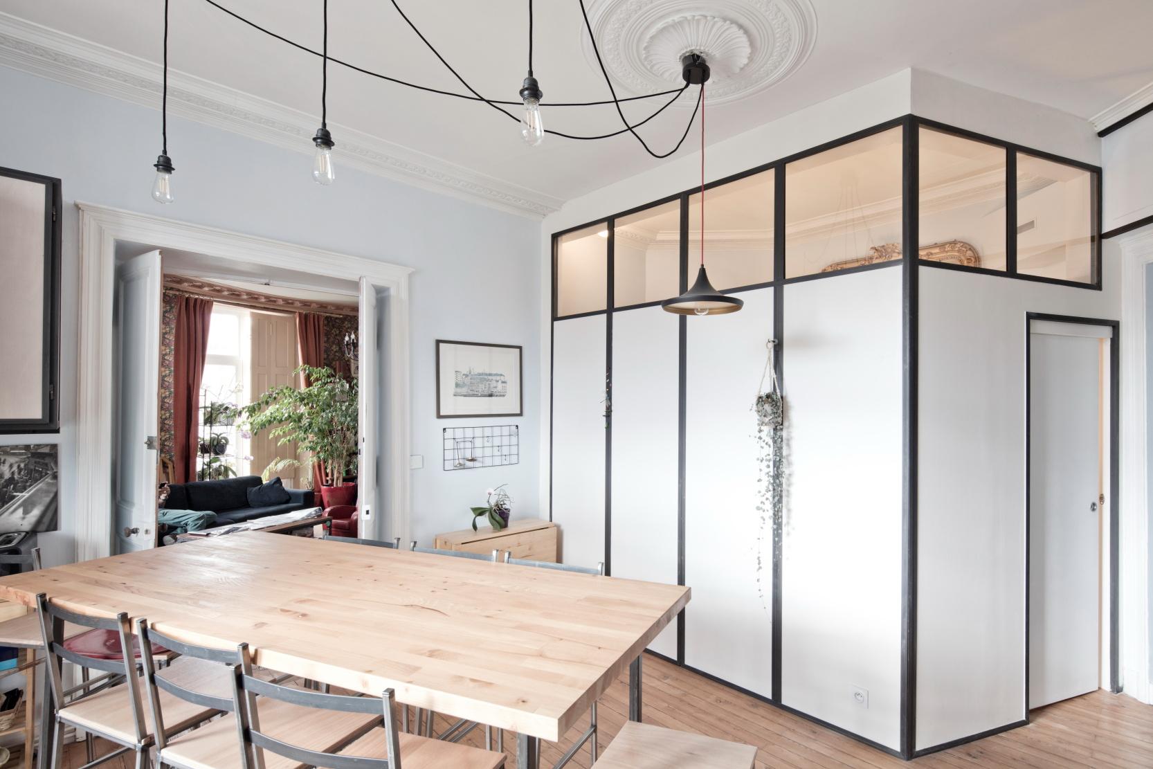 Rénovation par Archibien d'un appartement haussmannien