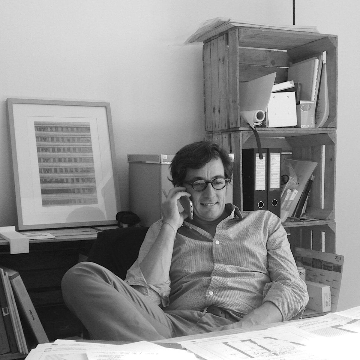 L'architecte Julien Descamps