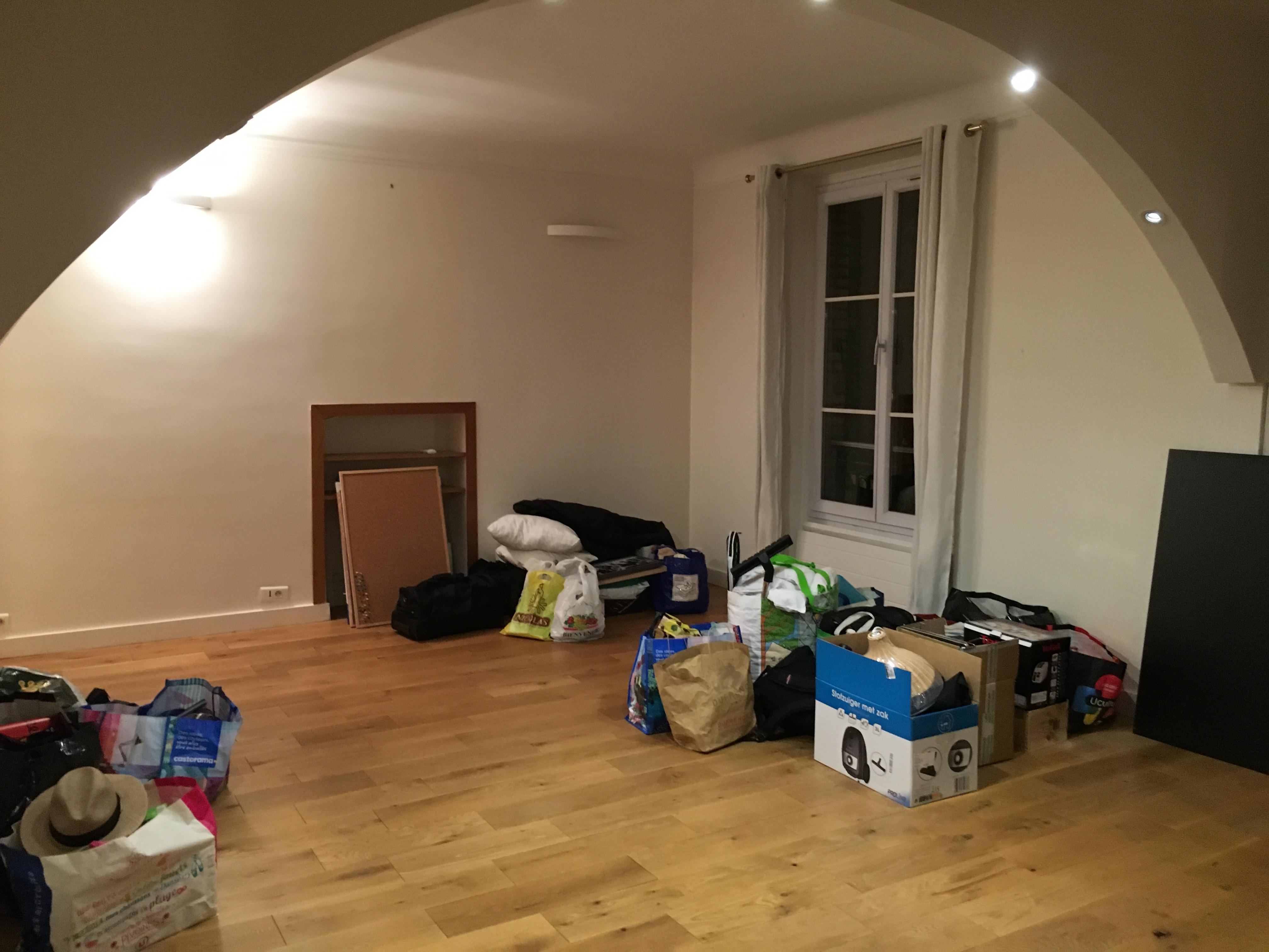 Photo de la pièce de vie de l'ancien appartement avant de faire appel à Archibien