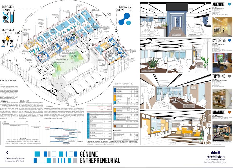 Planche de l'agence Raw, partenaire Archibien pour une rénovation à Paris