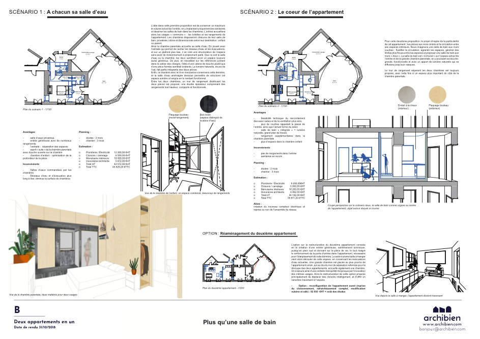 transformer un appartement à Nantes avec l'agence Baltique et Archibien